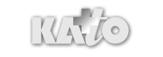 Kato logo in white
