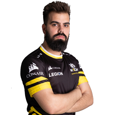 Photo of ESE K1CK player JOliveira10 on a transparent background