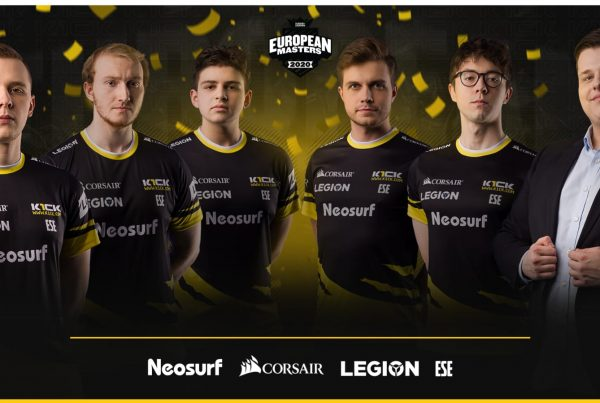 Photo of ESE European Masters vice champions banner
