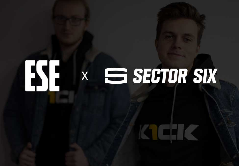 ESE Signs Apparel and Merchandising Sponsorship Deal with Leading Apparel Company, Sector Six Apparel